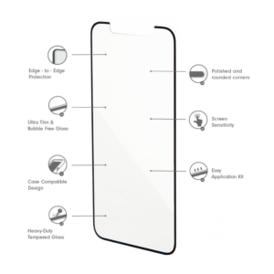 Tempered Glass iPhone Xs Max 3D
