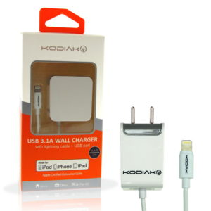 Travel Charger MFI fro Apple 3A 6ft EU